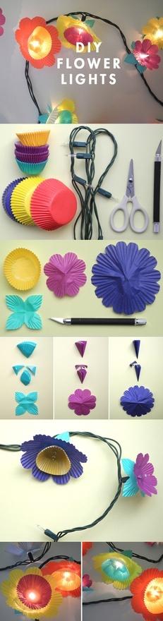 DIY - Flower Lights